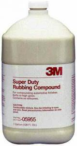 3M™ Marine Super Duty Rubbing Compound 1Gal