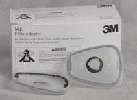 502 Filter Adapter for Respirators Box