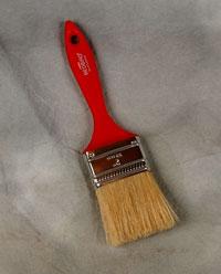 2 inch 50mm Red Brush