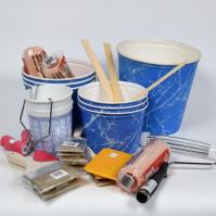 Kits Brush Are A Collection Of Gloves Mixing Tubs Bushes