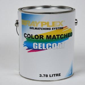 Gelcoat Color Matching c/w Catalyst