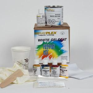 White-Gelcoat Repair Kit + Shipping