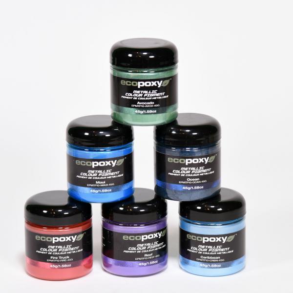 Ecopoxy Metallic Color Pigments-Group