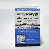 Ecopoxy UV Poxy 1L Kit
