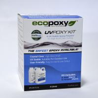 Ecopoxy UV Poxy 4L Kit