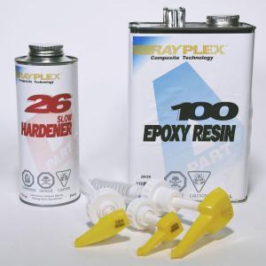 System 100 Epoxy Resin/Hardener KIT 3.74L + Pumps