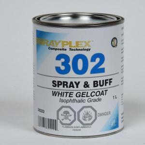 Spray & Buff White Gelcoat 1L
