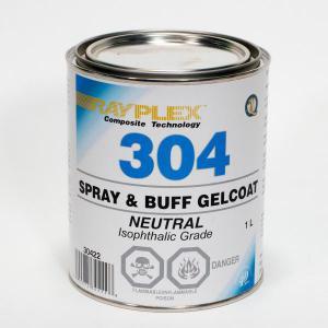 Spray & Buff Neutral Gelcoat 1L