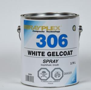 WHITE GELCOAT 1L SPRAYING