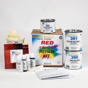 Red Gelcoat Repair Kit CY