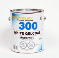 White Gelcoat brushing 3.78 L