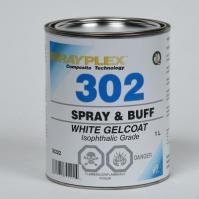 Spray & Buff White Gelcoat 1Lt