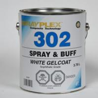 Spray & Buff White Gelcoat 3.78Lt