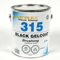 Black Brushing Gelcoat 3.78L