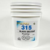 Black Brushing Gelcoat 20L