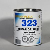 Clear Spraying Gelcoat 1L