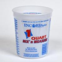 PLASTIC MEASURING TUB 32OZ