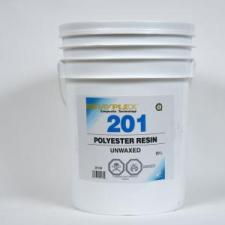 rayplex 201 fiberglass resin is a high strength polyester resin used